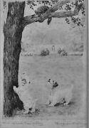 Marguerite Kirmse- One Up And Two To Play - Etching - Sandn - Free Ship Us