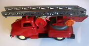 Vintage Fire Toy Friction Truck Ussr Russia Cccp Soviet Era Poland