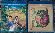 The Jungle Book 1 And 2 Diamond Edition Blu-ray + Dvd Lot Complete Set Disney