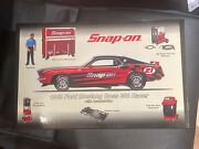 Snap-on Ford Mustang Boss Diecast Coin Bank 302 Racer With Glomad Box