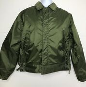 Vintage 1964 Uss Virgo Ae-30 A-1 Insulated Extreme Cold Weather Navy Jacket L