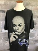 Vintage 1999 Austin Powers Dr. Evil Michael Myers Glow In The Dark Changes Tee