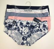 Nautica Intimates No Show Hipster Panties Underwear 5 Pack Women's Size Xl