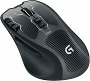 Logitech Rechargeable Gaming Mouse G700s Usb Black Wireless 2.4ghz Used