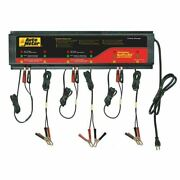 Auto Meter Agm Optimized Smart Battery Charger 6 Channel, 230v 5am, Buspro-662