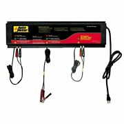 Auto Meter Agm Optimized Smart Battery Charger 3 Channel, 120v 5 Am - Buspro-360