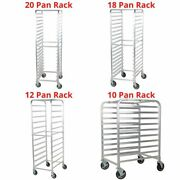 10-20 Pan Rack Cooling Bakery Pastry Restaurant Aluminum End Load Baking Tier