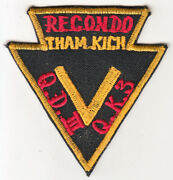 Wartime Arvn Ranger Ii Corp Recondo Pocket Patch 673