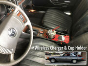 Red Cup Holder And Charger R107 450sl 380sl 560sl 350sl Mercedes-benz 1971-1989