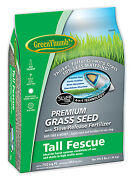 Green Thumb Greun230 Premium Coated Tall Fescue Grass Seed 3-lbs. Covers 750