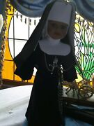 Porcelain Nun Dolls Nuns Habits.nun Doll.from Balthimore Md African Heritage