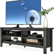 Fitueyes Farmhouse Tv Stand Console For Tv's Up To 65 Flat Screen Television