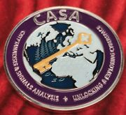 Nsa-- National Security Agency Challenge Coin Casa Cryptanalysis And Signals 2
