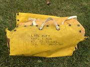 Vietnam Us Air Force Pilot Water One Person Survival Raft And Kit Usaf Military