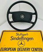 Steering Wheel With The Rings Genuine Mercedes Benz W107 W114 W115 W116 Coupe