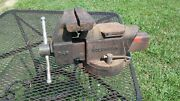 Vintage Columbian D-45 Bench Vise 5 Inch Jaws