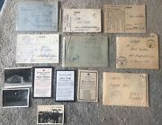 Collection Of Ww2 Feldpost Covers German Plus Letters Photos And More