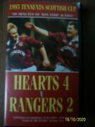 Hearts 4 V Rangers 2 1995 Tennents Scottish Cup Vhs Video Heart Of Midlothian Fc