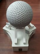 Vintage Disney Monorail Playset Original Red Edition Spaceship Earth Accessory