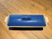 Le Creuset 11 X 4.5 Cake/terrine Dish With Cover - Never Used