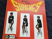 The Supremes - Meet The Supremes Rare 1962 1st Stool Cover Motown 606 Lp Vg/vg.