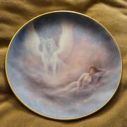 Vintage- Hamilton Collection Once Upon A Dream Plate Unicorn By Jack Shalatain