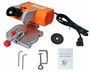 Mini Cut-off Miter Saw For Cutting Metal Wood Plastic Arts And Crafts 110v Power