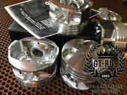 Forged Pistons For 1jz-gte Engine. Cr 8.7 1 Made For Motorsport. Gt-rus
