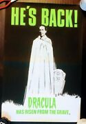 Dracula Has Risen From The Grave 1968 Original Uk Double Crown Poster .30 X 20