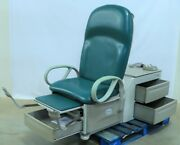 Brewer 6501 Access High-low Medical Exam Table Foot Switch Stirrups