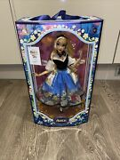 Disney Store Alice In Wonderland Mary Blair Limited Edition Doll