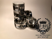 Forged Pistons For M54b30 Engine. Cr 10.2 1 Made For Motorsport. Gt-rus