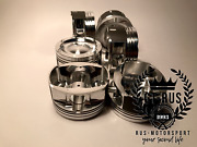 Forged Pistons For M54b30 Turbo Engine. Cr 8.5 1 Made For Motorsport. Gt-rus