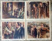 The Hound Of The Baskervilles 1959 Original British Front Of House Cards X 8