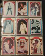 Elvis Presley Complete Set 66 Trading Cards 1978 Boxcar Near Mint Or Better 🔥📈