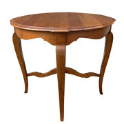 Ethan Allen Country French / Maison Solid Cherry Side End Lamp Table 37-8404