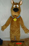 Scooby Doo Dog Mascot Costume Adult Costume Free Shipping