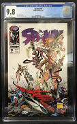 Spawn 9 Image Cgc 9.8 White Pages - 1st App Medieval Spawn And Angela