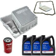 Acdelco Allison 1000 Transmission Service Kit And Ppe Deep Pan For 01-19 Gm Trucks
