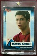2004 Cristiano Ronaldo Rookie Review Magazine Card Manchester United