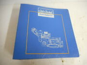Cub Cadet Commercial Series And Attachments Manual P/n 772-4193