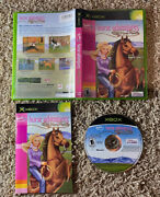 Barbie Horse Adventures Wild Horse Rescue - Original Xbox - Complete And Tested
