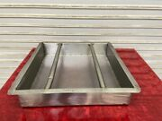20x20 Scrap Basket Food Strainer Stainless Dishwasher Pre Table Insert 6466
