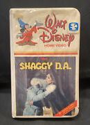 Vintage The Shaggy D.a. Walt Disney Home Video Vhs Clamshell-tested-rare