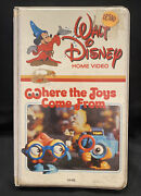 Where The Toys Come From-walt Disney Home Video Vhs-rare