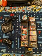 Sega Genesis 3 Console Cables Controller And 13 Games, Most Sonic, Sor2 Mk2