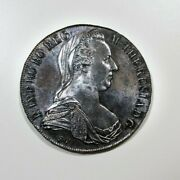 1 Thaler 1780 Restrike Proof Maria Theresia Strongly Toned Multicolour Austria
