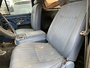 1978-1979 Ford Bronco Full Size Manual Front Bucket Seats W/ Center Console