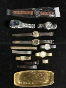 Quality Watch Lot - Fossil Relic Times Sharp Jurgenson-work/parts/new-attic Find