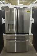 Ge Profile Pvd28bynfs 36 Stainless French Door Refrigerator Nob 113111